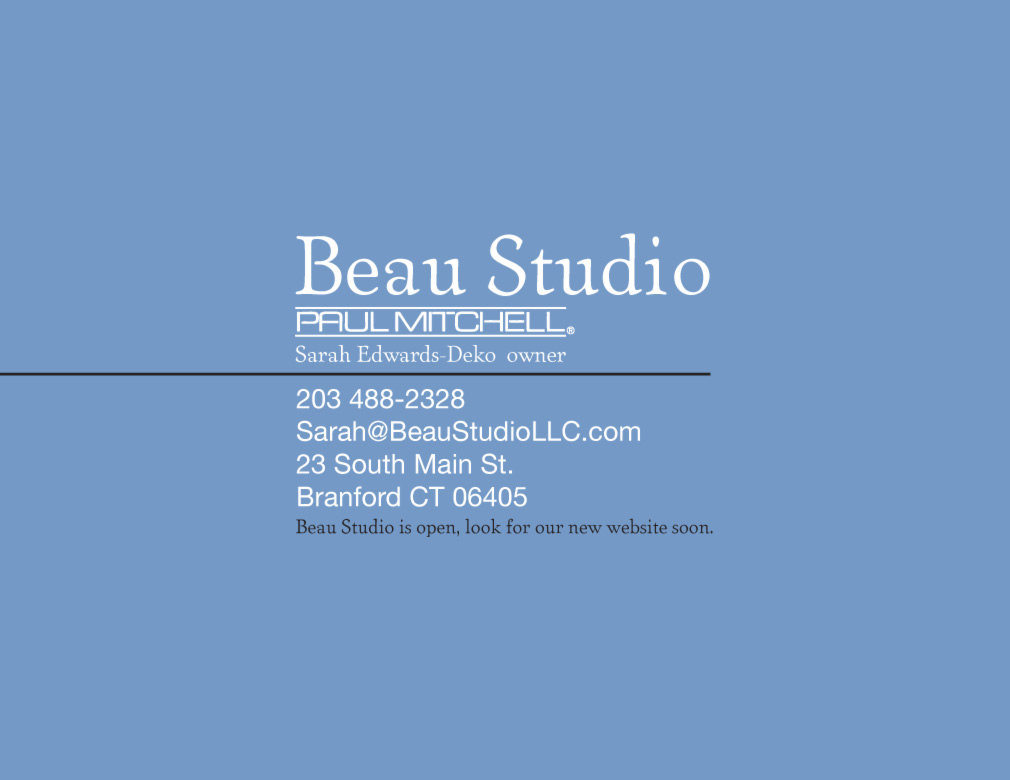 Beau Studio hair salon Branford CT